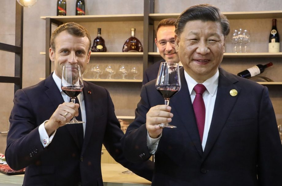 Macron Offers Xi Jinping Rare Romanee Conti Wine At Dinner Decanter