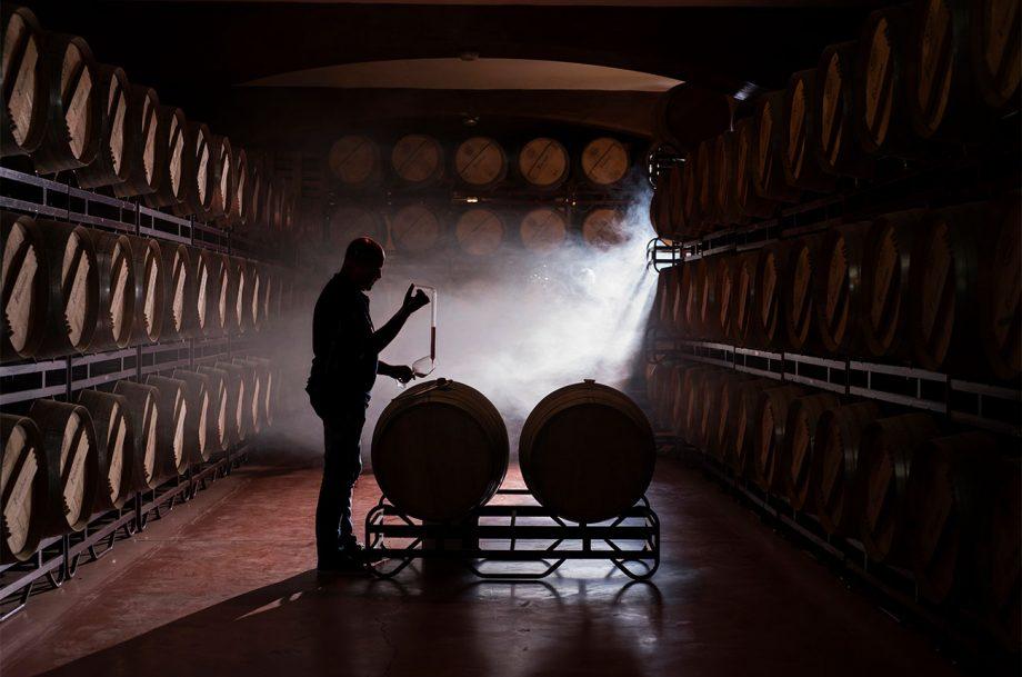 Bodegas Faustino barrels