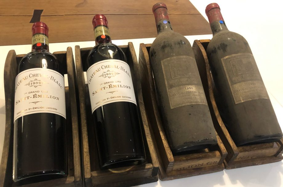 Chateau Cheval Blanc 1939 and 1950