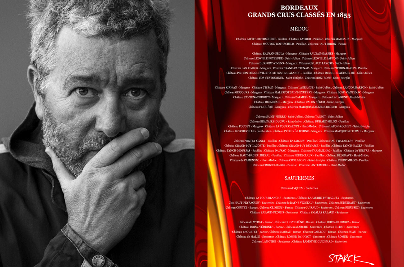 Interview: Philippe Starck on Roederer, Bordeaux and making wine - Decanter