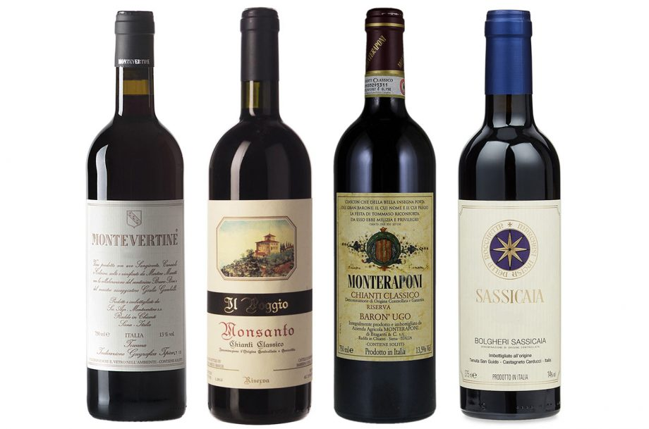 Tuscan vintages drink now