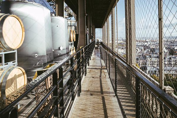 Поглед на винарија Ајфелова кула