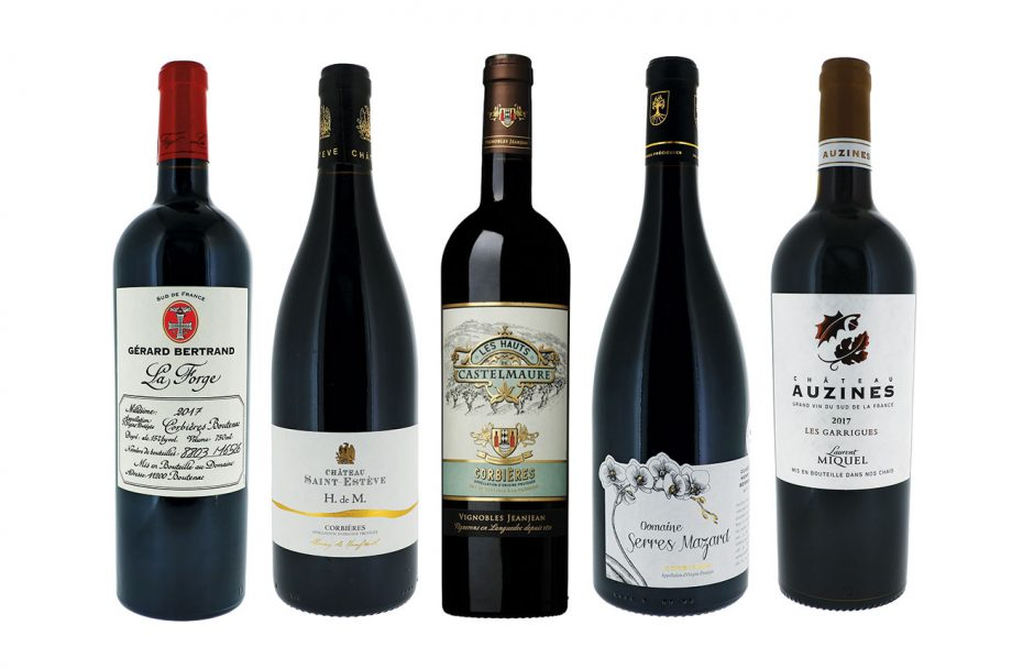 Corbieres red wines