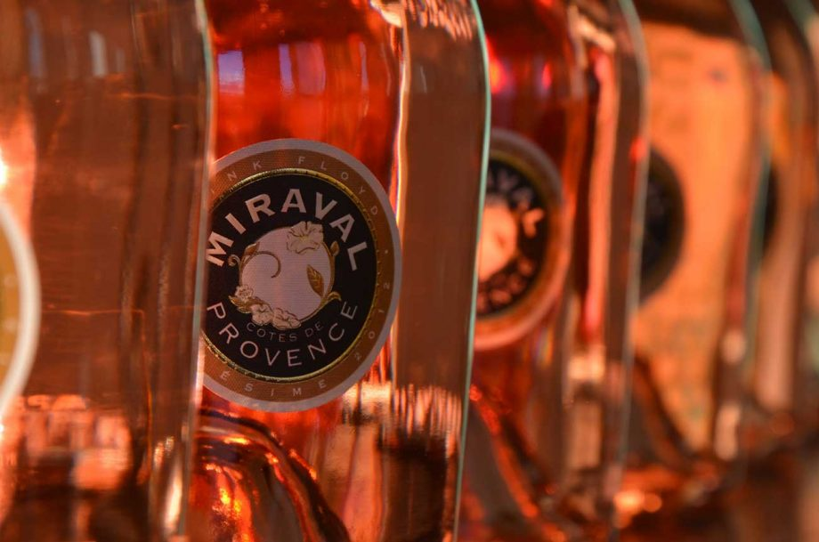 Miraval rosé Champagne