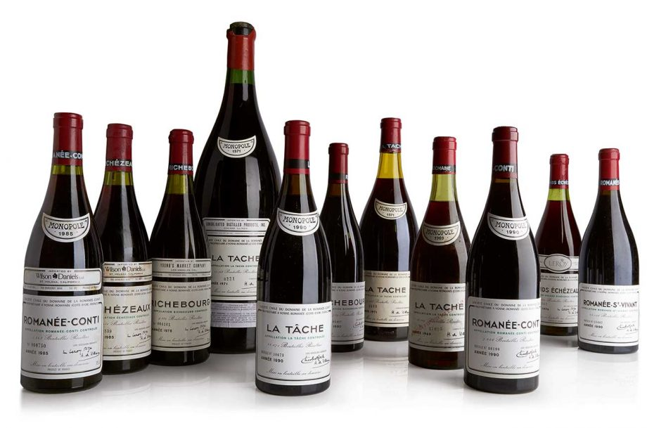 best selling wine sotheby's