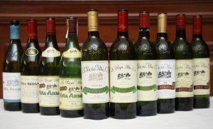 Wines tasted at La Rioja Alta Masterclass