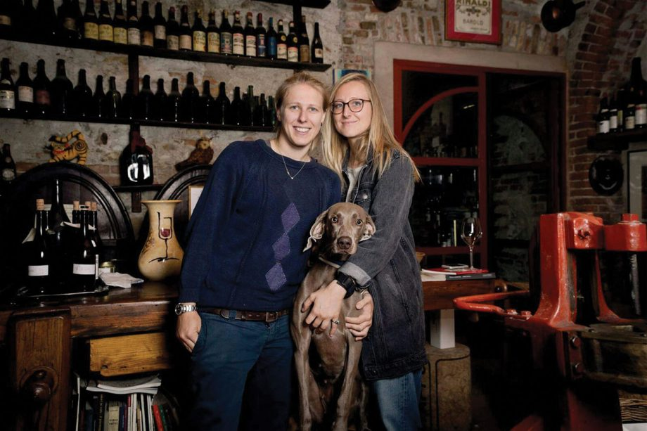 new italian winemakers, Marta and Carlotta Rinaldi