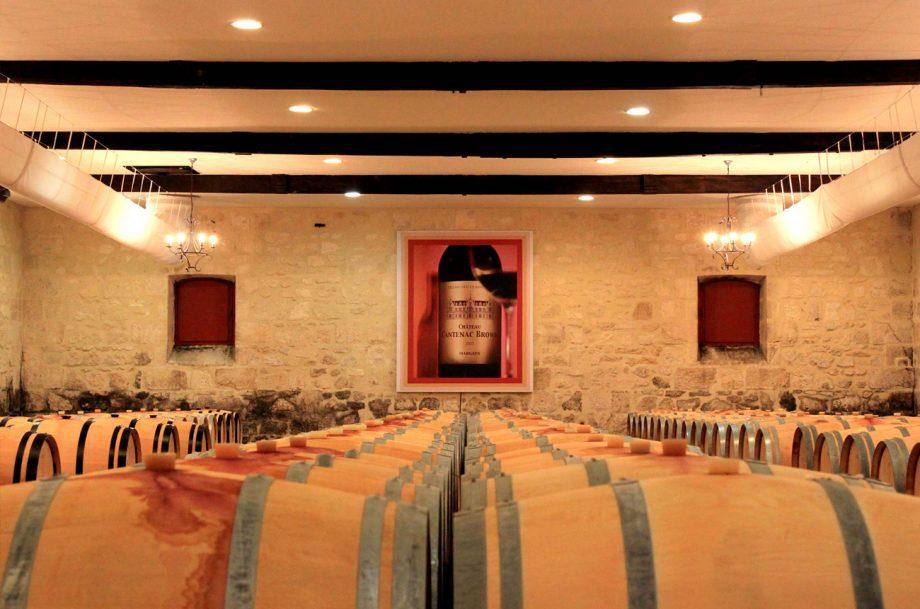 Château Cantenac-Brown cellar