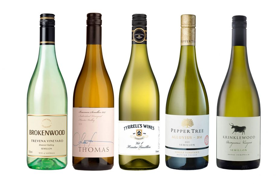 Hunter Valley Semillon wines