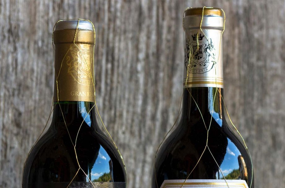 Rioja gold mesh