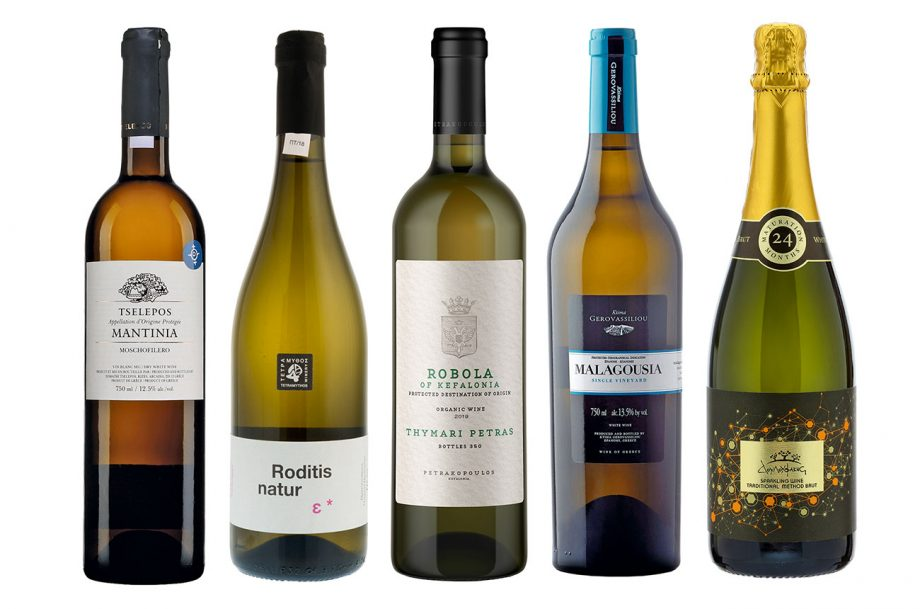 White wines Greece