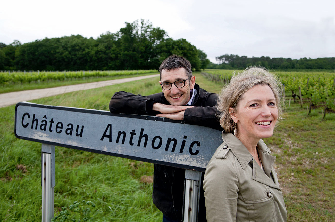 Nathalie and Jean-Babtiste Cordonnier Chateau Anthonic