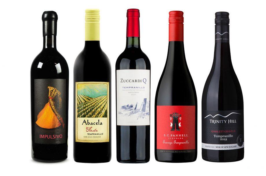 top Tempranillo wines