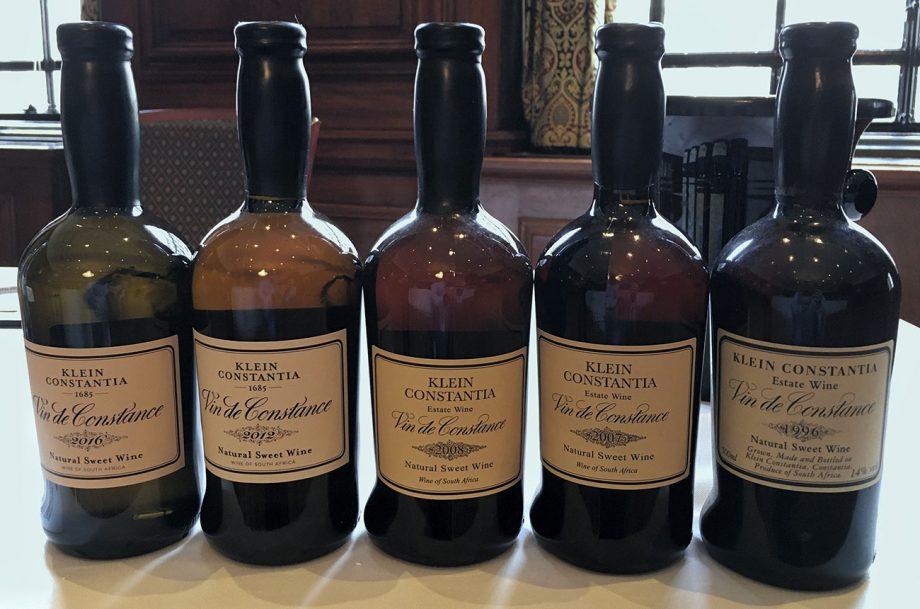 Vin de Constance wines