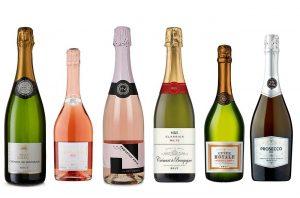 six bottles of the best sparkling wine under £20
