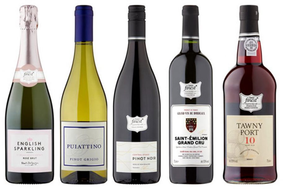 Tesco wines