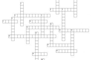 Bordeaux Wine Crossword