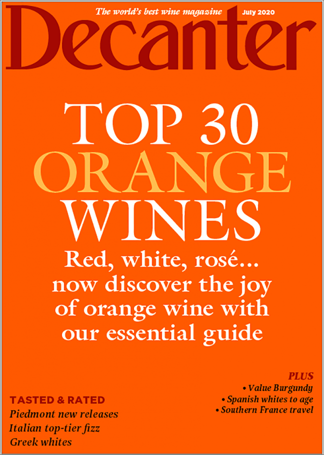 Decanter top orange wines from Slovenia available in the UK