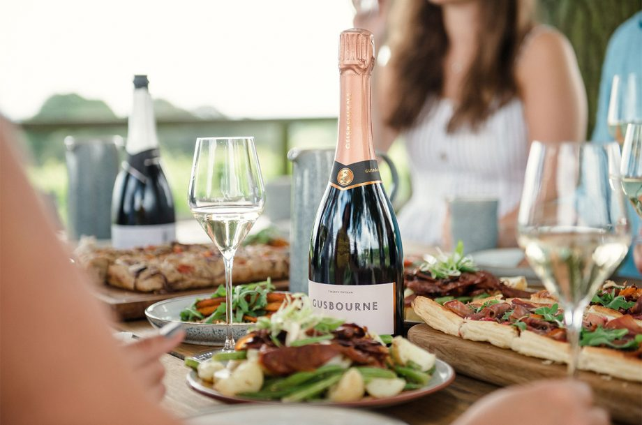 The Nest Gusbourne wine and food