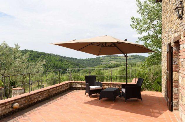 tuscany vineyard villa