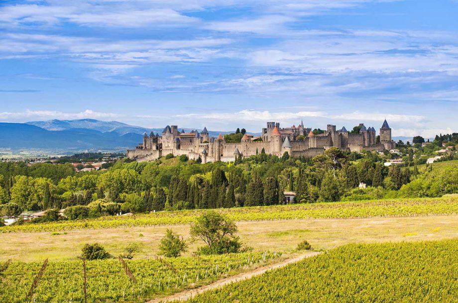 wine estates south france