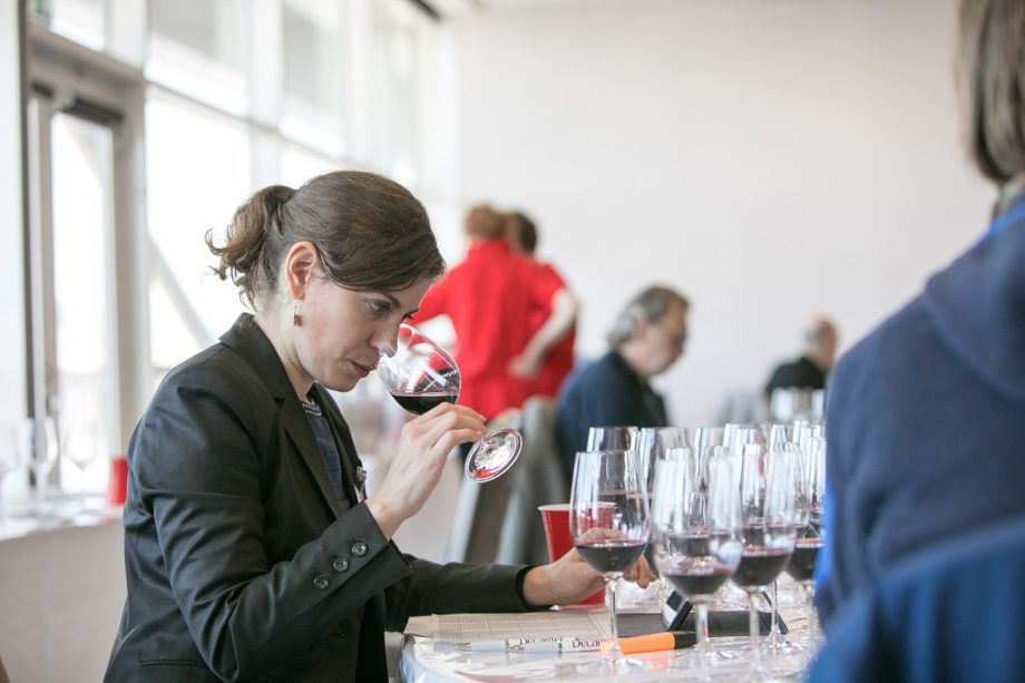 Paz Levinson at Decanter World Wine Awards