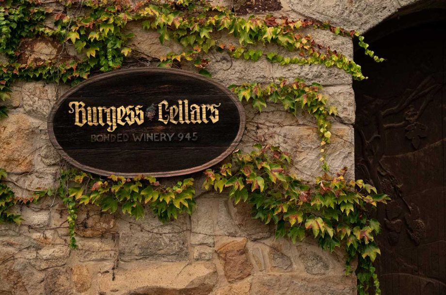 burgess cellars sold