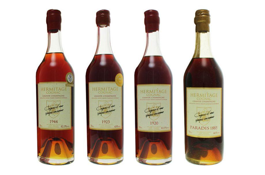 Hermitage cognacs