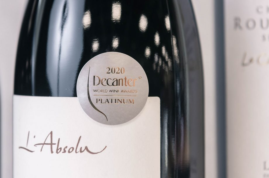 DWWA 2020 platinum wines