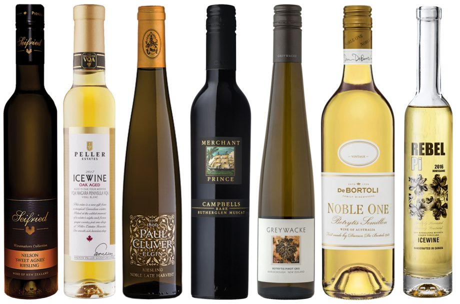 New World Sweet wines