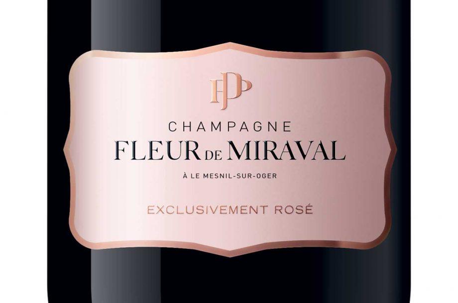 Brad Pitt Champagne, Fleur de Miraval
