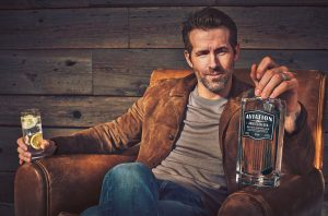 Ryan Reynolds Aviation Gin, Celebrity spirits
