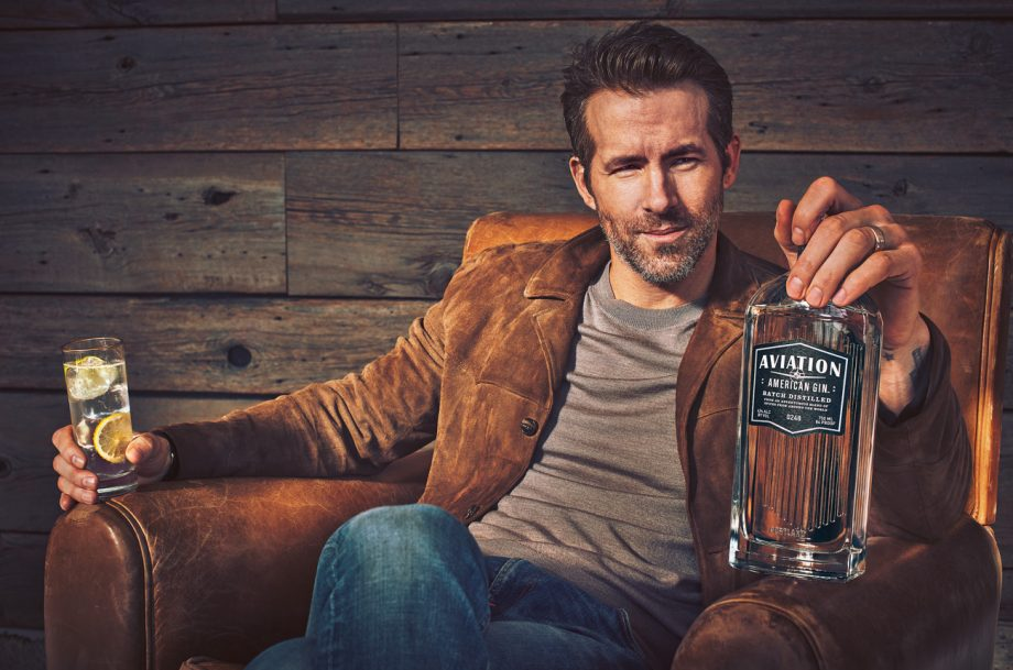 Ryan Reynolds Aviation Gin, Celebrity spirits