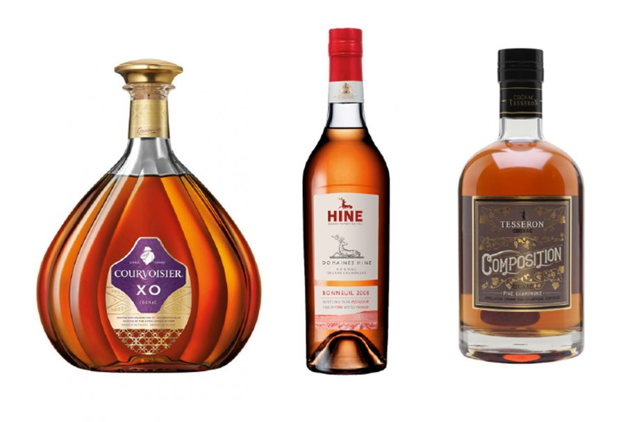 A selection of Cognacs; Best Cognac under 100;