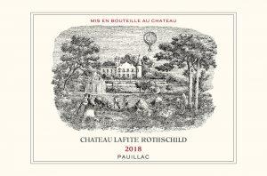 Lafite Rothschild label