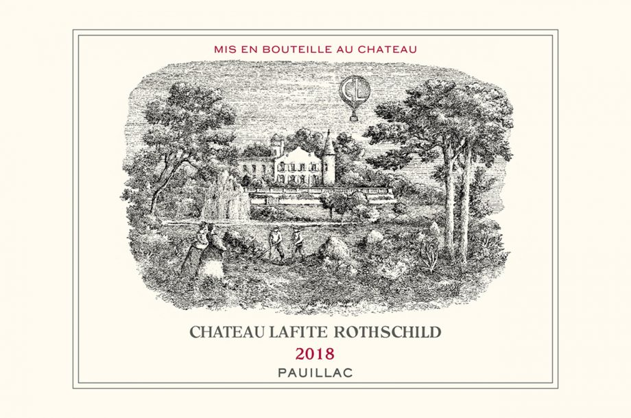 Lafite Rothschild label