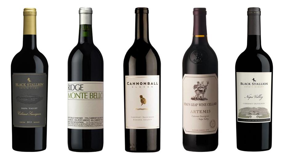 California Cabernet 2016 Panel tasting results