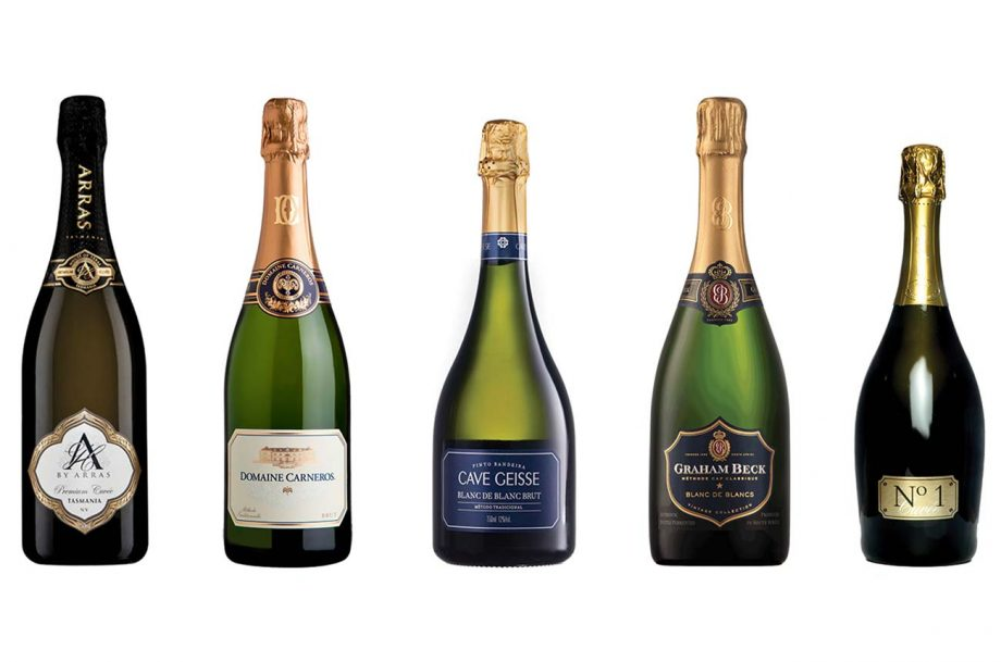 New world sparkling wines