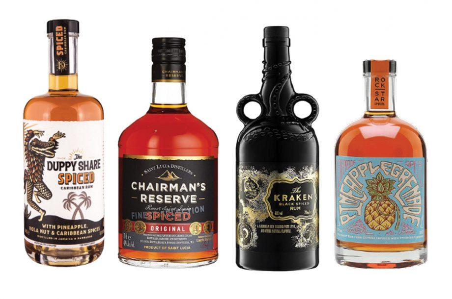 Spiced Rum Bottles