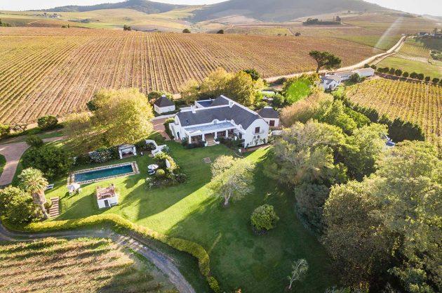 stellenbosch wine property sale