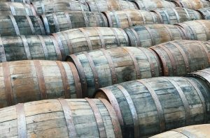 barrel-aged whiskies