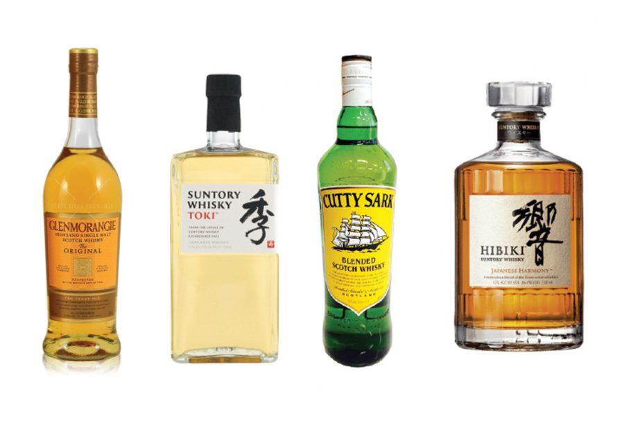 Whisky Highball Cocktail