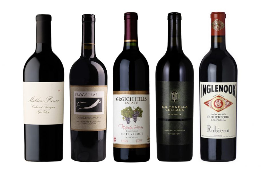 Rutherford 2018 wines