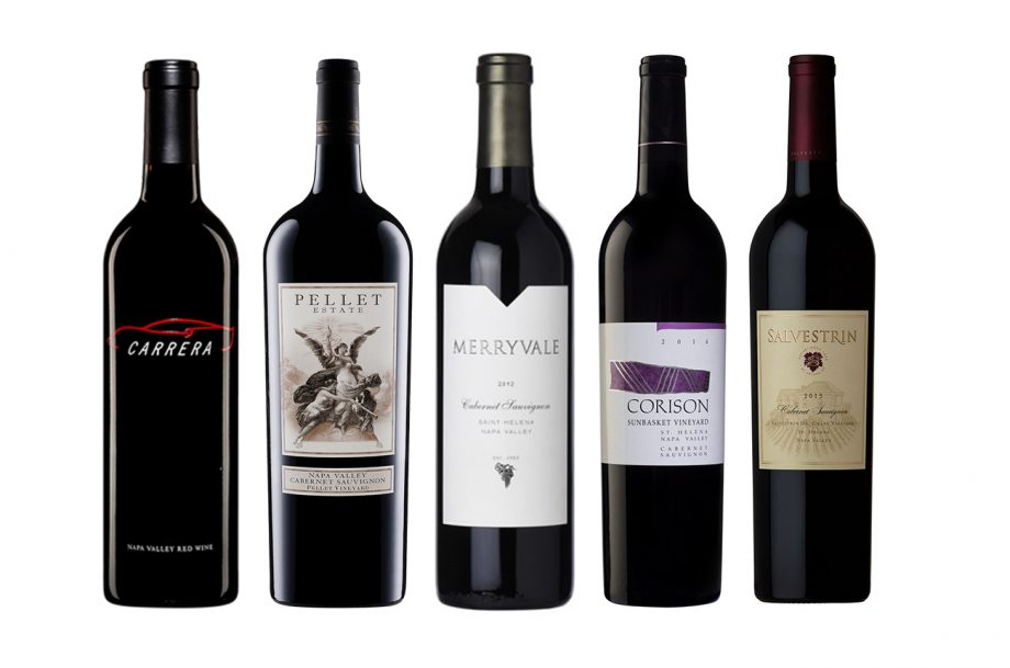 St Helena 2018 wines