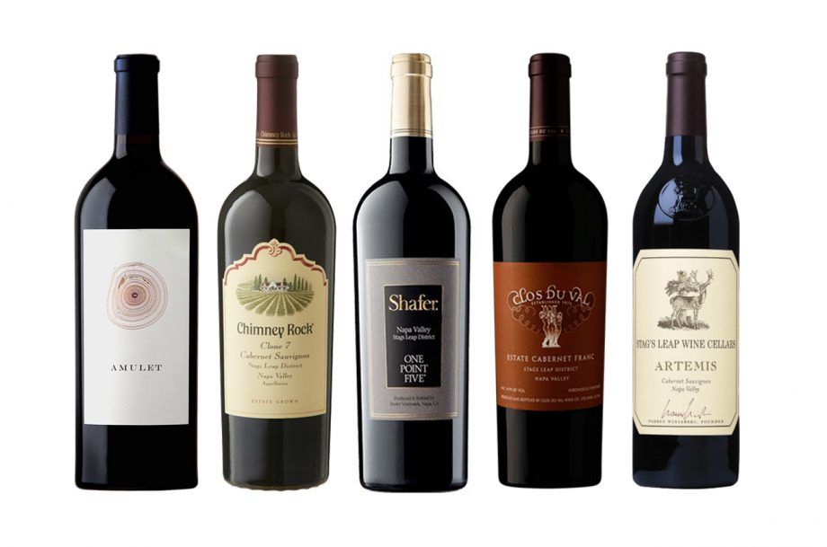 Stags Leap District 2018 wines
