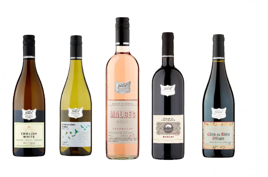 Tesco wine range 2021