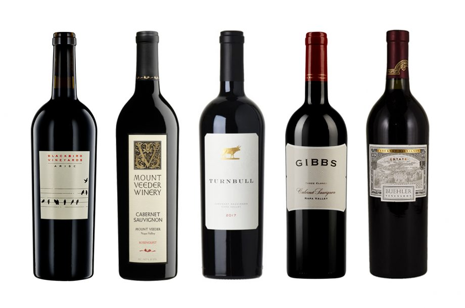 Napa Valley Cabernet value 2018 wines