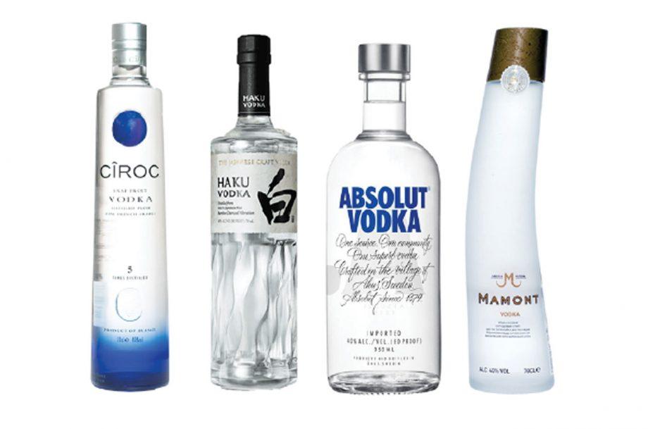 Vodka Ciroc Haku Absolut Mamont