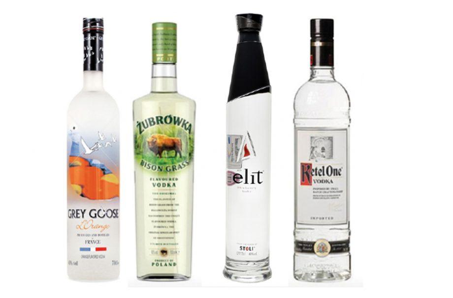 Vodkas Black Friday Grey Goose Zubrowka Stolichnaya Ketel One