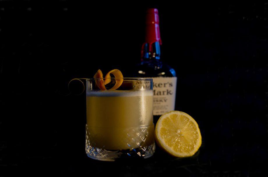 Whisky Sour Cocktail Maker's Mark
